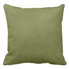 Beautiful Soft Green Throw Pillow #homedecor  Earth tones, browns, greens, yellows, so many ways to work with this pillow. Throw pillows are also an easy way to add a splash of color in your decor.  in stock: $67.95