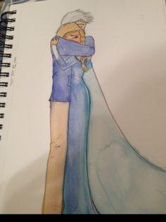 elsa and jack frost | Disney Princess Jack Frost and Queen Elsa