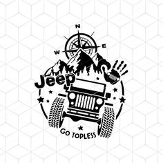 Jeep Wrangler Accessories, Jeep Accessories, Jeep Decals, Vinyl Decals, Jeep Tattoo, Jeep Shirts, Monogram Decal, Jeep Jk, Jeep Life