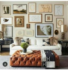 Ideas for the big living room wall