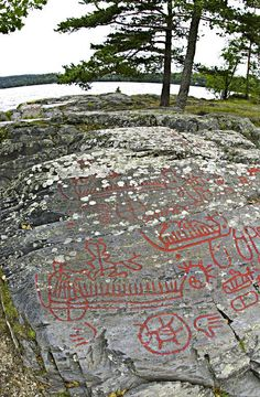 Petroglyphs at Högsbyn, Sweden