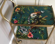 Unique lovingly upcycled vintage furniture by Revivr on Etsy Funky Furniture, Recycled Furniture, Paint Furniture, Unique Furniture, Furniture Projects, Furniture Makeover, Vintage Furniture, Furniture Design, Animal Print Furniture