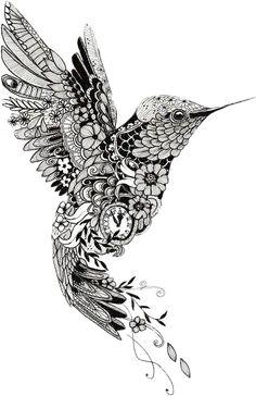 Mini Tattoos, Flower Tattoos, Body Art Tattoos, Sleeve Tattoos, Tatoos, Tattoo Designs, Mandala Tattoo Design, Mandala Drawing, Geometric Hummingbird Tattoo