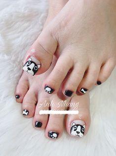 Super gel pedicure designs tips ideas Gel Toe Nails, Gel Toes, Feet Nails, Toe Nail Art, Pedicure Designs, Pedicure Nail Art, Cute Nail Art Designs, Toe Nail Designs, Bling Nails