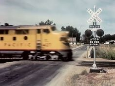▶ Railroad Grade Crossing Safety - The Last Clear Chance - 1959 Union Pacific Railroad - Val73TV - YouTube