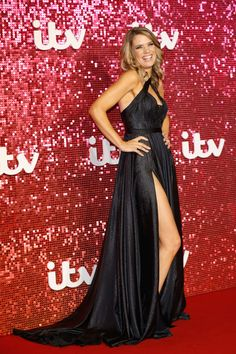 Charlotte Hawkins Photos - Charlotte Hawkins arriving at the ITV Gala held at the London Palladium on November 9, 2017 in London, England. - ITV Gala - Red Carpet Arrivals