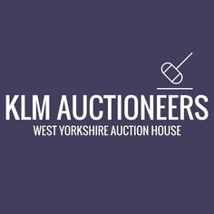 Logo design for KLM Auctioneers, Halifax. Simple and clean graphics by Fi From Fi&Becs Design ( Logo Design, Product Launch, Friday, Branding, Graphics, Photo And Video, Marketing, Logos, Simple