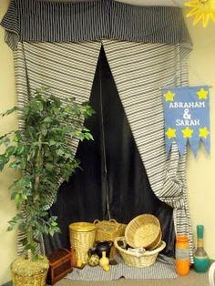 Bible Fun For Kids: Bible Class Tent Ideas