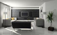 TV Wand selber bauen - 80 kreative Vorschläge!