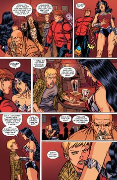 Wonder Woman  Orion...slapped...WONDER WOMAN's...ass? Da hell is wrong with u people!?