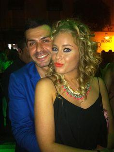 La guapísima @GiulsGH142 en #LaPosada después de la gala de #gh14 @Albertodelacru