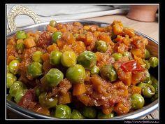 Erbsen und Möhrchen auf indisch   Foodina