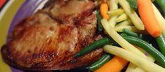 Recette: Côtelettes de porc au four. Marcel, Steak, Pork, Honey Pork Chops, Oven Pork Chops, Chops Recipe, Chicken, Cooking Food, Cooker Recipes