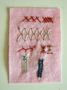 Stitch sample 2 by blue-field, via Flickr