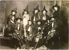 Vintage Witch Photo