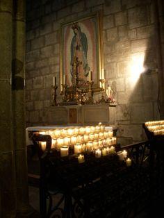 Virgen de Guadalupe @ Notre Dame -Paris, France