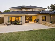 Interior design is easily the most interesting and pleasurable concept for the majority of homeowners and home builders. House design is a rather spec. Minimalist House Design, Minimalist Home, Modern House Design, Facade House, Home Design Plans, House Goals, Home Renovation, Basement Renovations, Exterior Design