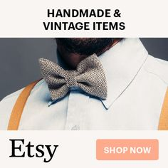Discover unique handmade and vintage fashion on Etsy.com