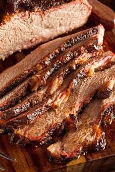 Beef Brisket with Homemade Barbecue Sauce Recipe with Liquid Smoke, Onion Salt, Garlic Salt, Ketchup, Butter, Celery Salt, Worcestershire Sauce, and Mustard Powder