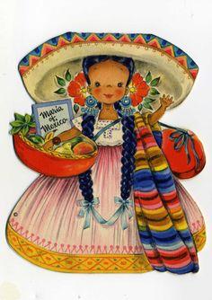 "1948 Hallmark ""MARIA OF MEXICO"""