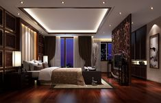 adorable-decor-for-luxurious-bedroom-style-wood-floors-beautiful.