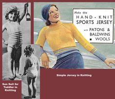 Weldons-6D-646-c-1930s-Vintgage-Swimwear-Sportswear-Knitting-Patterns-REPRO