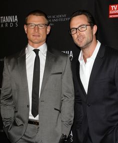 """Phillip Winchester and Sullivan Stapleton - two """"to die for"""" sexy actors. Catch them on Cinemax's wildly addicting """"Strike Back"""""""