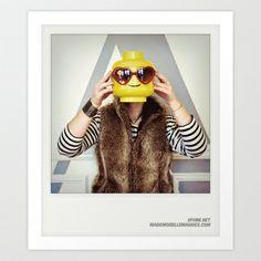 Minifig me ! – Everyone has a LEGO piece inside - 5 Art Print by ufunk - $18.00