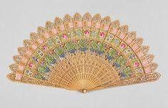 brisé fan Date: circa 1800