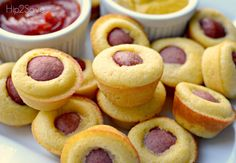 Homemade Mini Corn Dog Muffins Hip2Save