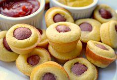 Homemade Mini Corn Dog Muffins Hip2Save