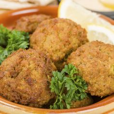A great recipe for homemade falafel, great served with a yogurt sauce.. Homemade Falafel Recipe from Grandmothers Kitchen.