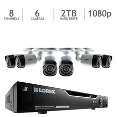 A Home video surveillance system (Costco seems to have a few at decent price like this one)