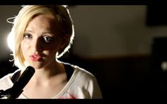 Titanium - David Guetta ft. Sia - Official Acoustic Music Video - Madilyn Bailey.  Her expressive style of singing and vocal control need no explanation.  In a word, this lady is a musical powerhouse..