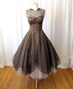 50's Lace Dress