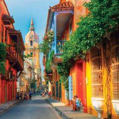Cartagena de Indias city guide: How to spend a weekend on Colombia's Caribbean coast - aBestFamily South America Destinations, South America Travel, Travel Destinations, Visit Colombia, Colombia Travel, The Tig, Colourful Buildings, Colonial Architecture, Cuban Architecture