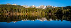 Sprague Lake, Rocky Mountain National Park, Colorado (pinned by haw-creek.com)