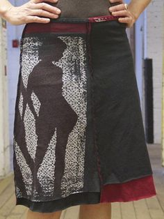 jupitergirl.net upcycled skirts: silhouette