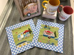 Fun items for everyday living by RoadsideCottage Susan Graham, Patriotic Bunting, Pug Names, Microwave Bowls, Long Winter, Construction Paper, Sewing Rooms, Hot Pads, My Happy Place
