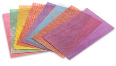 Frosted Glass Craft Paper $5.42  http://www.dickblick.com/products/roylco-frosted-glass-craft-paper/
