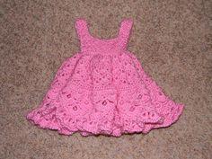 Free Baby Crochet Patterns | Crochet Baby Girl Dress