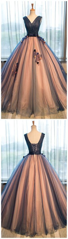Ball Gown Prom Dress,Long Prom Dresses,Prom Dresses,Evening Dress,