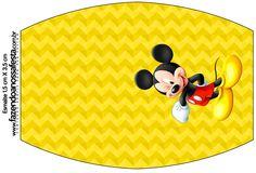 Rótulo Esmalte Mickey: