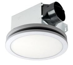 Delta Breez 80cfm Dimmable Led Ceiling Exhaust Bath Fan White