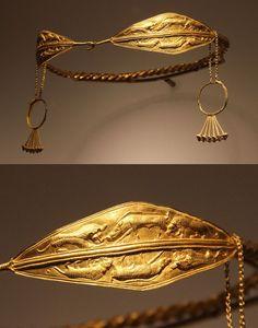 Gold Diadem | Vani, Western Georgia, ca. 400 B.C. | Gold
