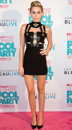 Miley Cyrus in #Vintage Versace from Resurrection