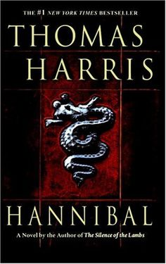 Hannibal by Thomas Harris. A great series.