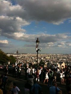 The view from Sacre Coeur in Paris