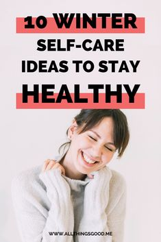 Self-care is so important during winter. Not only will it help you cope with winter blues, but will get you through the season feeling healthy. I listed 10 healthy self-care ideas you can try this winter. Click the pin in to read more! Take Care Of Your Body, Take Care Of Yourself, Things To Think About, All Things, Best Self, Self Care, How To Stay Healthy, Lifestyle Blog, Health And Wellness