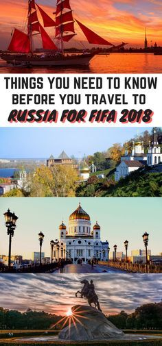 Things you need to know before going to Russia for FIFA 2018 World Cup